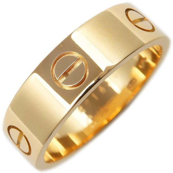 Authentic Cartier Yellow Gold Love Ring #60 US 9