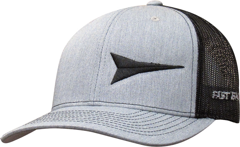Cap #03RBW - Heather Grey / Black