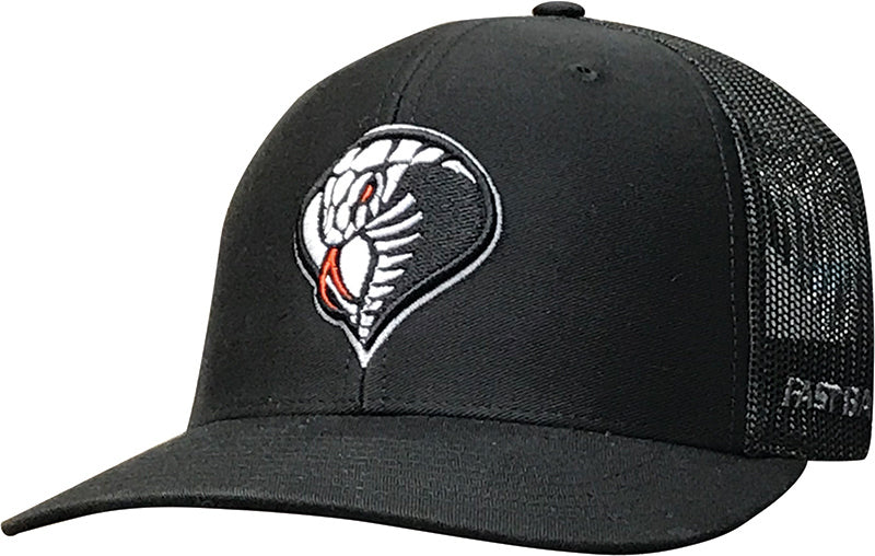 Cap - Black with 3D Cobra Logo
