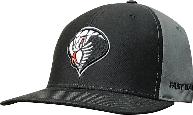 Cap - Black / Charcoal / Cobra Logo