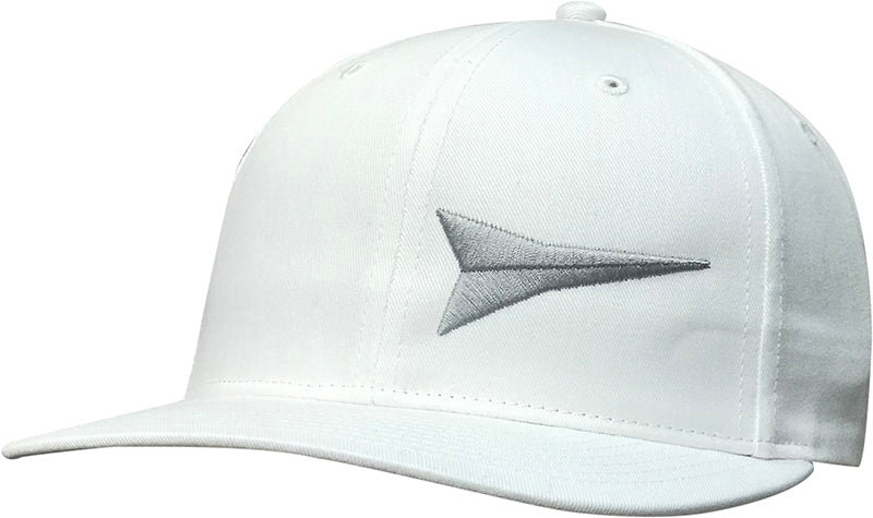 Cap #03RDM - White with Silver Logo