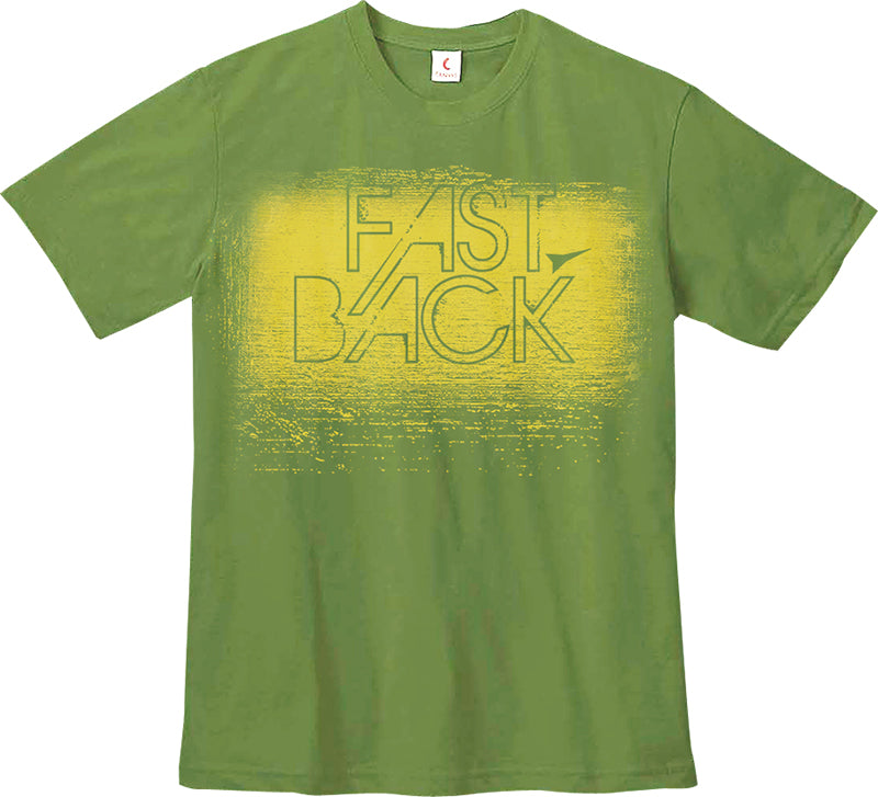 T-Shirt Green Textured