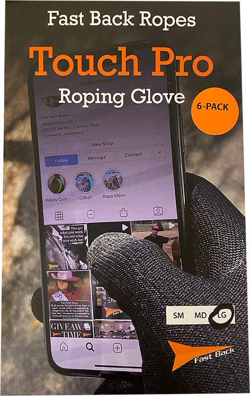 Touch Pro Roping Gloves