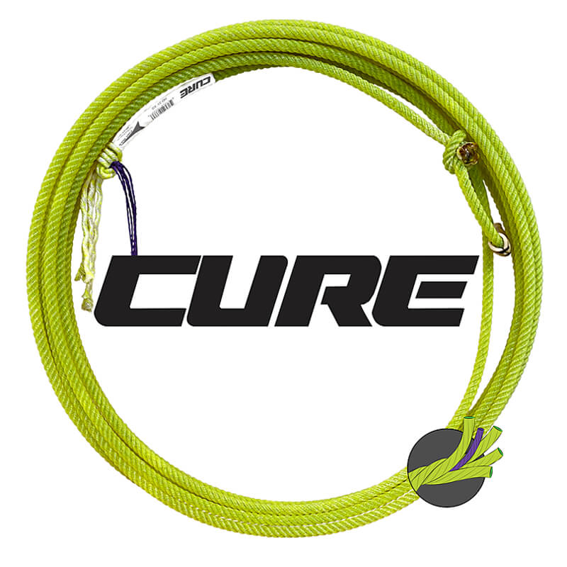 Cure Heel Rope - 35' - Fast Back Ropes