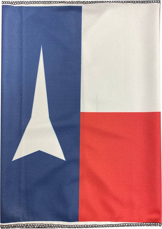 Gaiter Face Mask - Texas Flag with FB Rocket