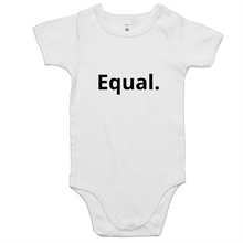 Load image into Gallery viewer, Equal. Baby Onsie