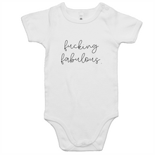 Load image into Gallery viewer, Fabulous. Baby Onsie