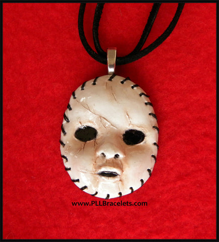 Pretty Little Liars Inspired A Halloween Mask PLL Necklace