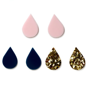 Rainy Day Studs Danielle Brustman X Pirdy Assorted Colours