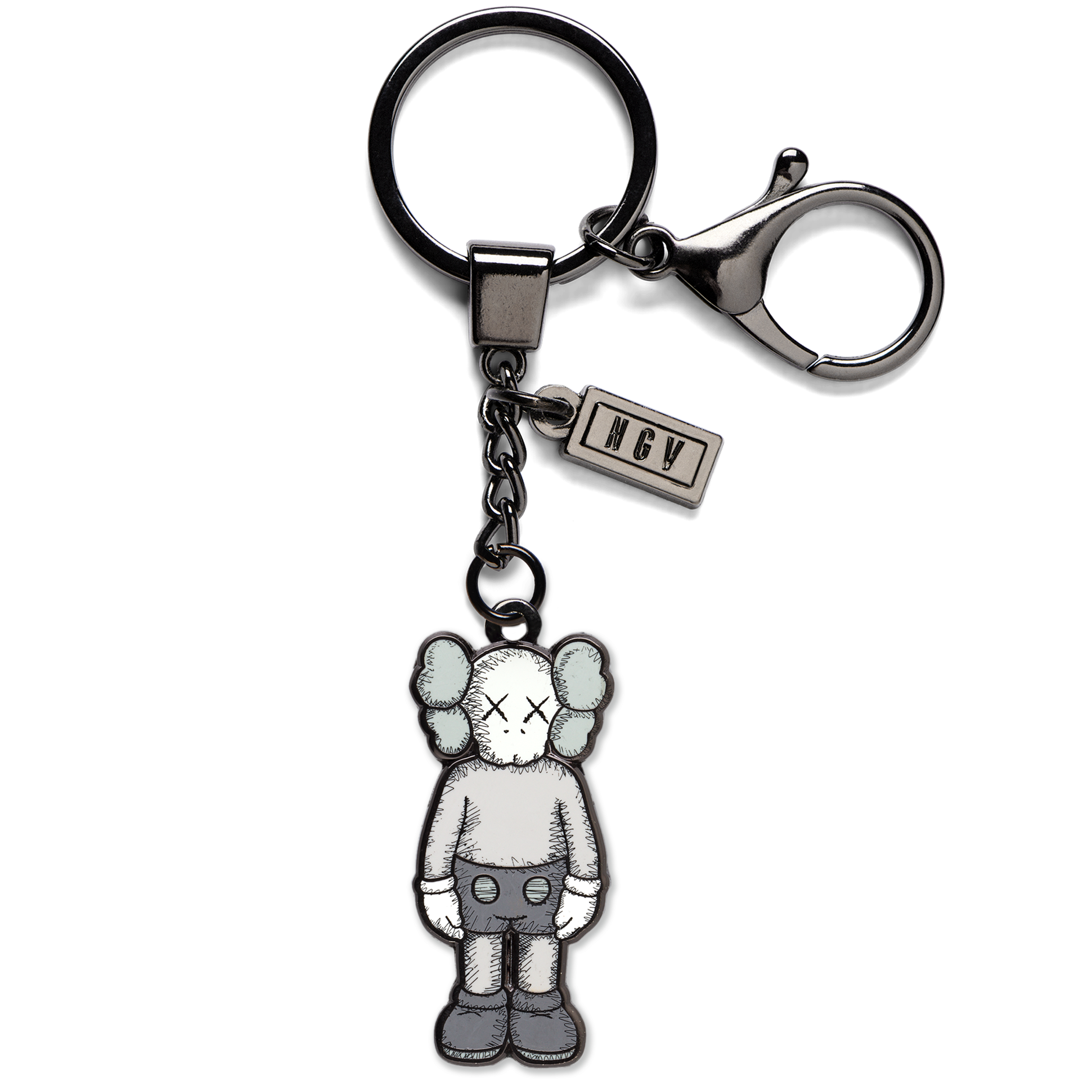 Keyring COMPANION Grey