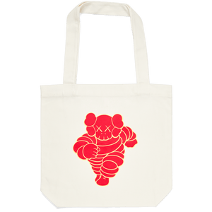 KAWS Tote bag CHUM Red