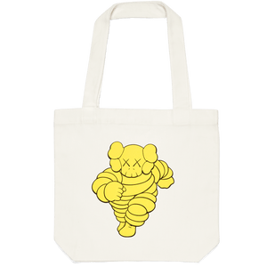 KAWS Tote bag CHUM Yellow