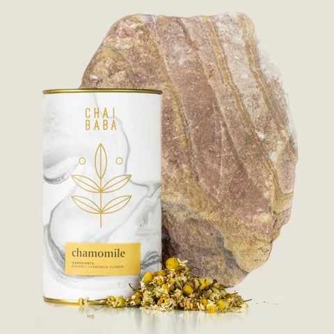Tin of Loose Leaf Organic Chamomile Tea
