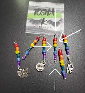 Pride Collection Hair Jewelry