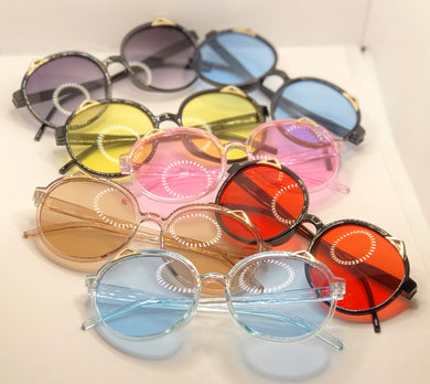 Infant Baby Cat Eye Sunglasses