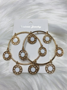 Round-A-Bout Hoop Earrings