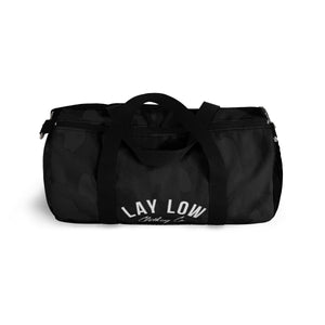 Black Camo Duffle Bag
