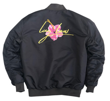 Load image into Gallery viewer, Gunmetal Bomber Jacket
