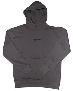 Slate Lay Low Hoodie - Lay Low Apparel