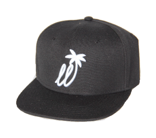 Black / White Snapback - Lay Low Apparel