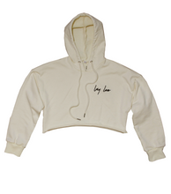 Load image into Gallery viewer, Womens Cropped Hoodie - Lay Low Apparel