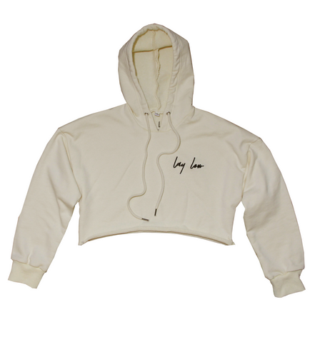 Womens Cropped Hoodie - Lay Low Apparel