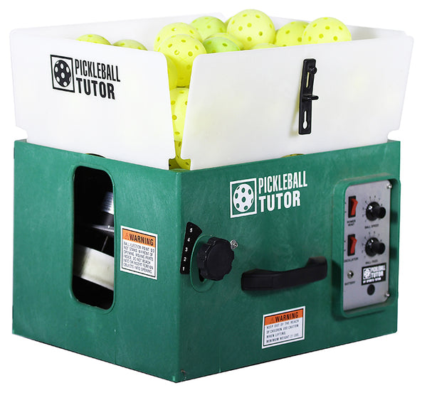 Pickleball Tutor Ball Machine (with oscillation)