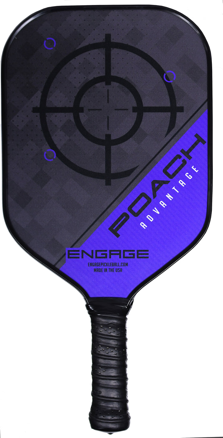 Midweight Green Engage New Poach Next Generation Pickleball Paddle