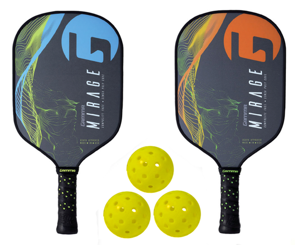 Gamma Bundle Set - (2) Paddles (2) Balls