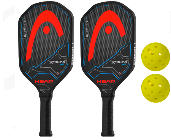 Head Bundle Set - (2) Paddles (2) Balls