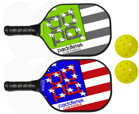 Paddletek Bundle Set - (2) Paddles (2) Balls