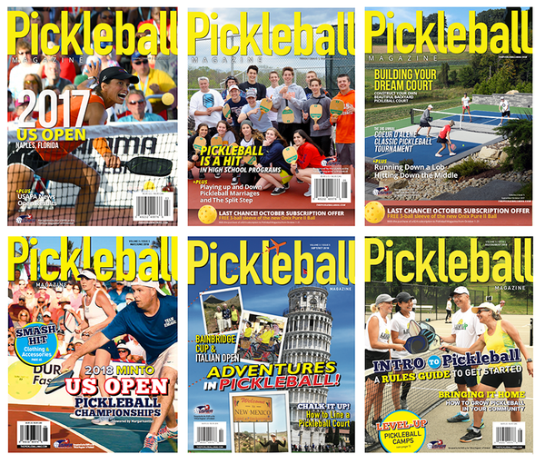 Pickleball Magazine Subscription