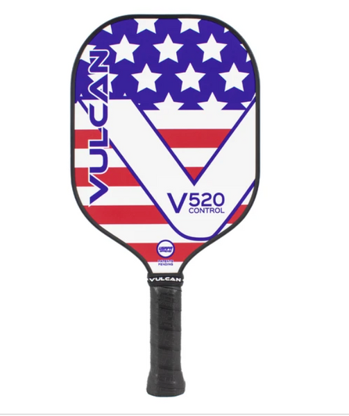 "Vulcan V520 ""Americana"" Control Pickleball Paddle"