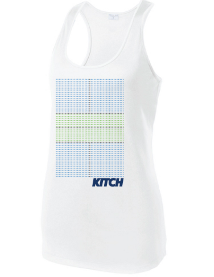 Kitch - Women's On Court Performance Racerback Tank