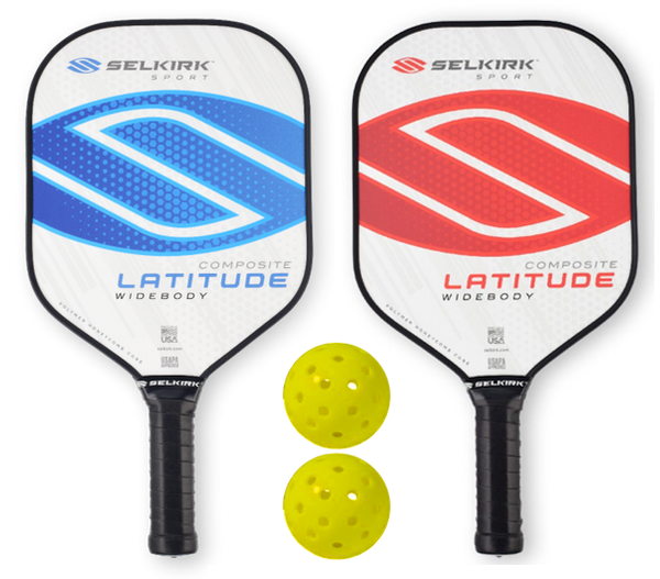 Selkirk Bundle Set - (2) Paddles (2) Balls