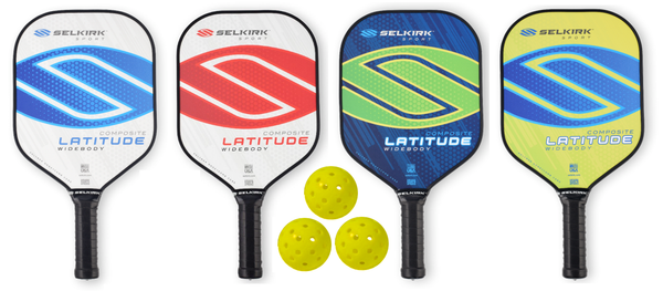 Selkirk Bundle Set - (4) Paddles (3) Balls