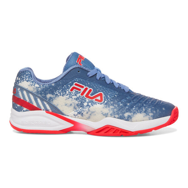 Fila Womens Axilus 2 Energized Blue/Red