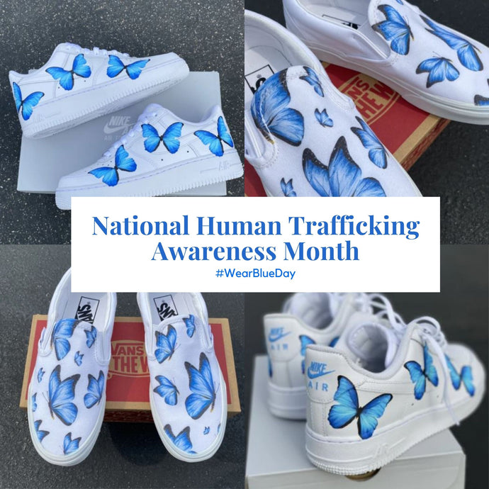 Shoes Against Modern Day Slavery
