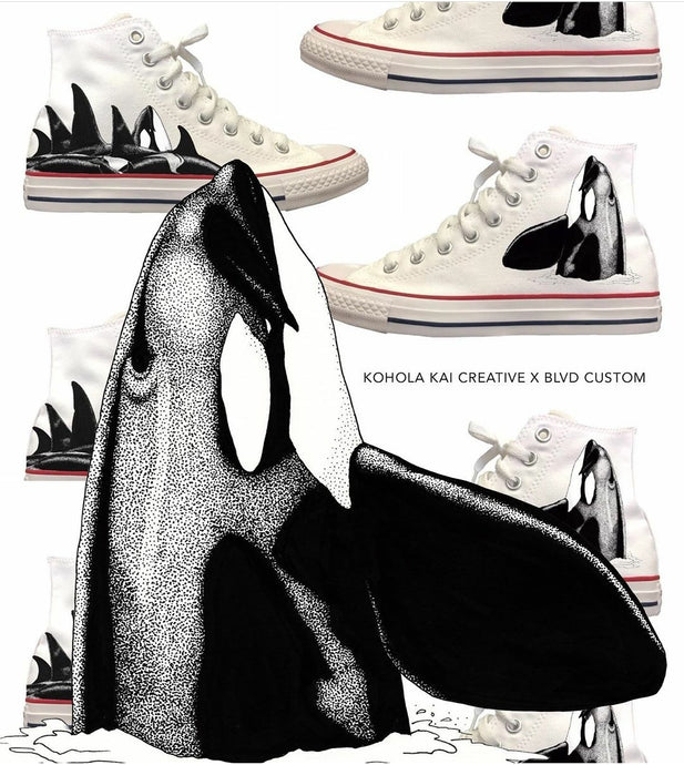 World Orca Day - How We Use Our Shoes To Help The Ocean!