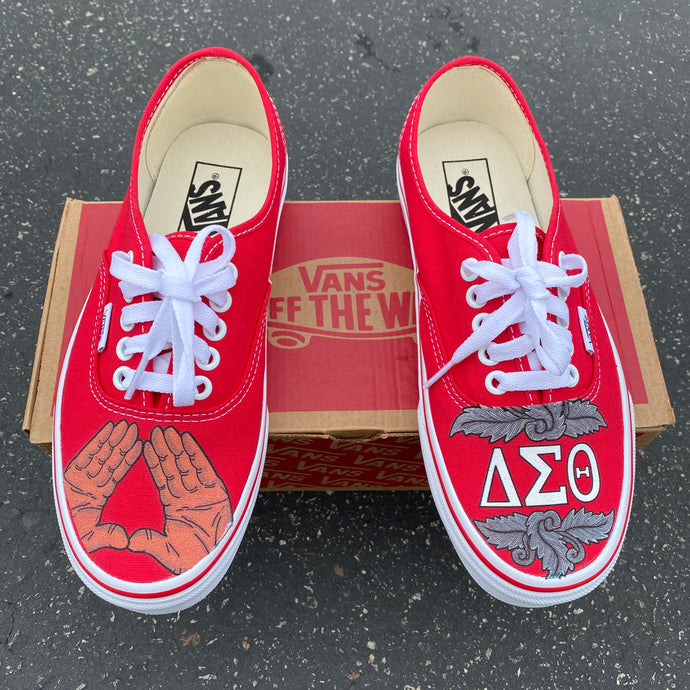 Sorority/Fraternity Vans for Recruitment 2020 - Custom Greek Life Shoes