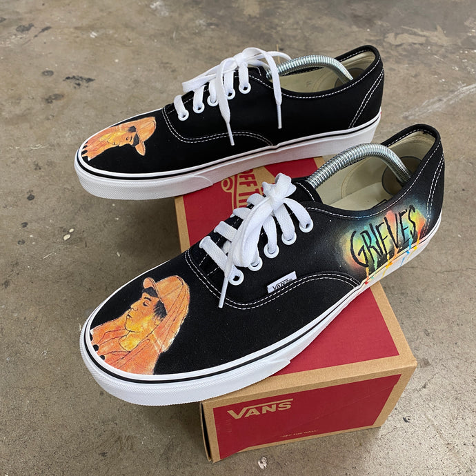 Grieves Together/Apart Album Vans Authentics - Custom Music Album Cover Shoes