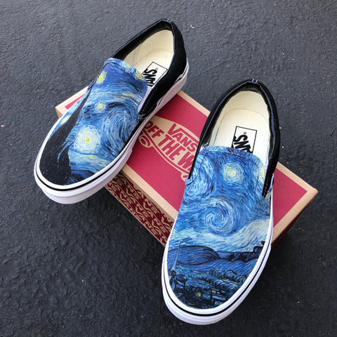Starry Night Vans Shoes