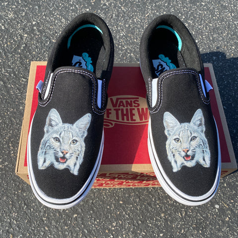 Zya the Bobcat Slip on Vans