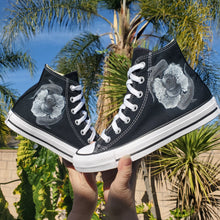 Load image into Gallery viewer, Sea Dreams High Top Converse - Available in Black and White Converse