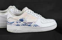 Load image into Gallery viewer, Japanese Wave - Custom Nike Air Force 1 Great Wave Off Kanagawa