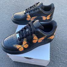 Load image into Gallery viewer, Custom Nike Air Force 1 Monarch ButterFLY