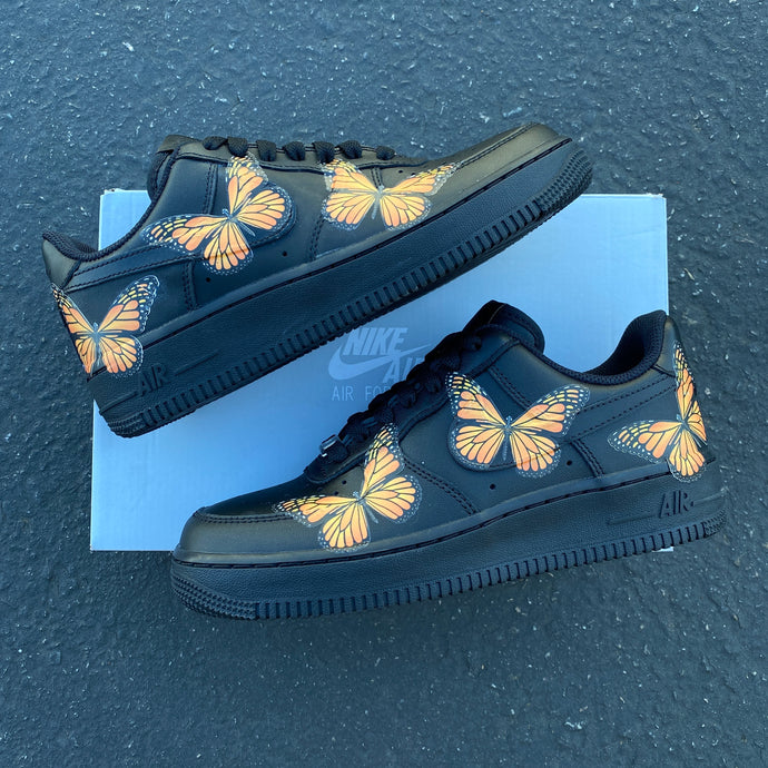 Custom Nike Air Force 1 Monarch ButterFLY