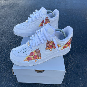 Custom Nike Air Force 1 Pizza Party