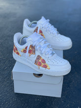 Load image into Gallery viewer, Custom Nike Air Force 1 Pizza Party
