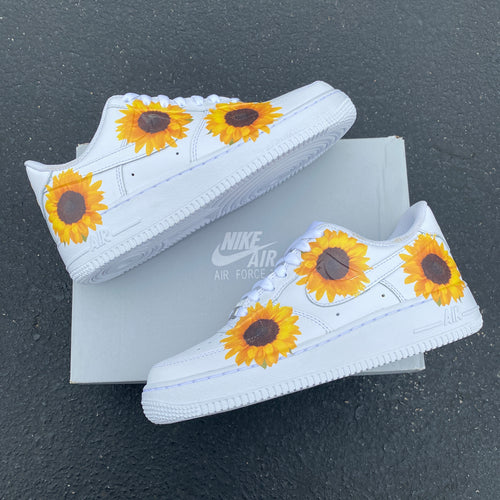 Custom Nike Air Force 1 Sunflower